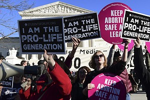 Americans' Support For Abortion Rights Wanes As Pregnancy...