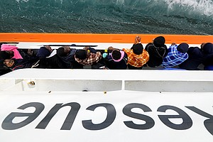 Migrant Ship, With Italian Support, Will Make Dayslong Jo...