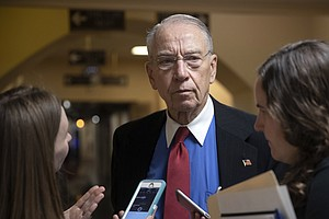 Sen. Grassley Says Report On Sexual Harassment In Judicia...