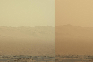Enormous Dust Storm On Mars Threatens The Opportunity Rover