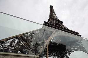 Eiffel Tower Now Has Bulletproof Glass Walls To Protect A...