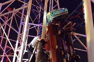 Roller Coaster Derails In Florida, Injuring Several People