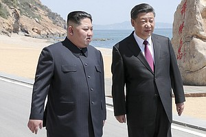 North Korean Leader Kim Jong Un Visits China