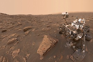 Mars Dust Storm Now 'Planet-Encircling,' Dimming Hopes Fo...