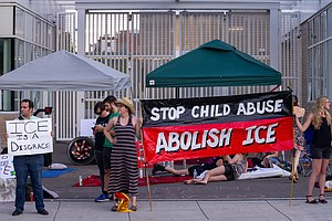 ICE Temporarily Closes Portland Office Amid Tumult Of Pro...