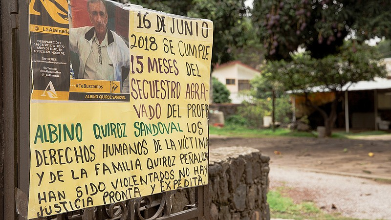 Last Year, A Retired Mexican Schoolteacher Vanished  His