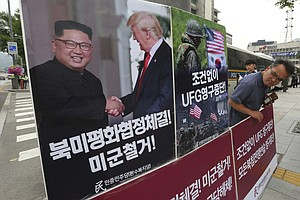 U.S. And South Korea Agree To Suspend Upcoming Military E...