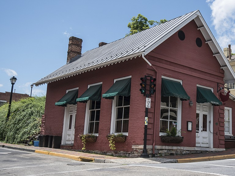 White House press secretary Sarah Sanders said Saturday in a tweet that she was asked to leave The Red Hen Restaurant in downtown Lexington, Va., because she works for President Trump.