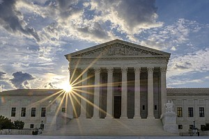 Supreme Court Says Texas Political Map Is Largely Not A R...