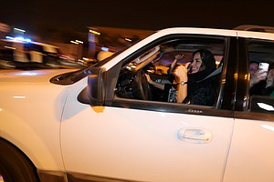 PHOTOS: Saudi Women Start Driving, But Activists Remain J...