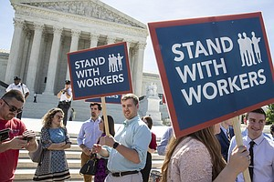 Photo for Supreme Court Deals Blow To Government Unions