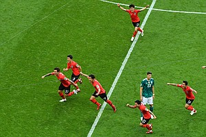South Korea Shocks Germany 2-0, Sending World Cup Champs Packing