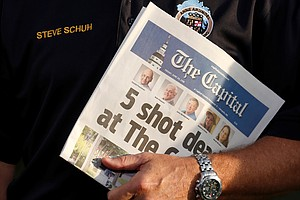 Capital Gazette Keeps Working, And Publishing, After 5 Di...
