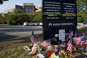 After Delay, Trump Orders Flags At Half-Staff For Annapolis Attack