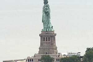 Activists Arrested At Statue Of Liberty After Protesting ...