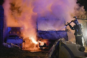 Nights Of Unrest, Torched Cars, After Fatal Shooting By P...