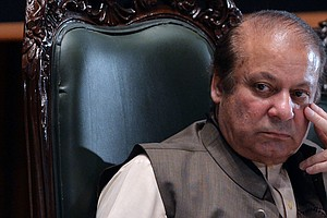 Nawaz Sharif, Ousted Pakistani Leader, Sentenced To 10 Ye...