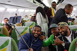 Commercial Plane Flies From Ethiopia To Eritrea For First...