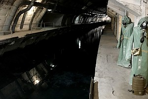 Now A Museum, This USSR Submarine Base Was Built To Endur...