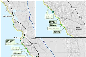 'Lifeline' Stretch Of California's Highway 1 Reopens 14 M...