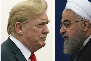 Trump To Iran's President Rouhani: 'NEVER, EVER THREATEN'...