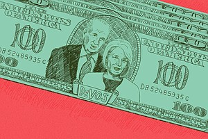DeVos Family Money Is All Over The News Right Now