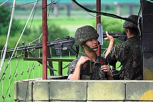 South Korea Says It Plans To Reduce Guard Posts On The DMZ