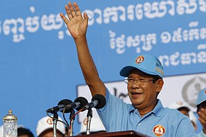 'Democracy For Cambodia Is At Stake' As Country Heads Int...