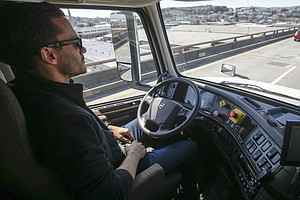 Uber Parks Its Self-Driving Truck Project, Saying It Will...
