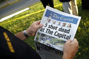Capital Gazette Shooting Suspect Pleads Not Guilty To Mur...