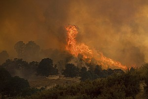 California Wildfires Reignite Old Trauma For Survivors Of...
