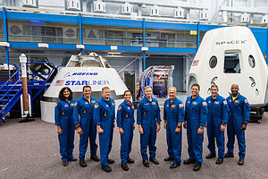 NASA Announces Crew For First Commercial Space Flights
