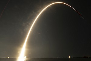 SpaceX Falcon 9 Lifts Off In Florida, Places Indonesian S...