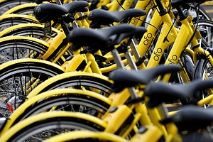Hundreds Of Bikes Dumped At Dallas Recycling Center As Ofo Leaves Market
