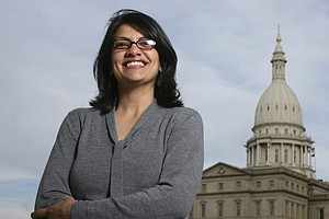 Detroit's Rashida Tlaib Poised To Become First Muslim Wom...