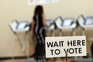 Election Security Becomes A Political Issue In Georgia Go...