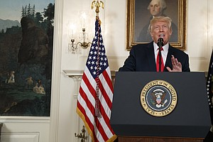 A Year After Charlottesville, Not Much Has Changed For Trump