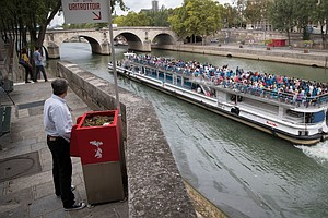 Nope, Those Aren't Mailboxes: Paris Rolls Out Sidewalk Ur...