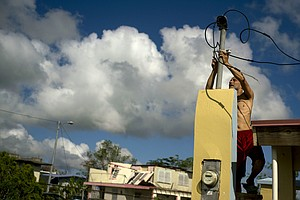 Nearly A Year After Maria, Puerto Rico Officials Claim Power Is Totally Restored