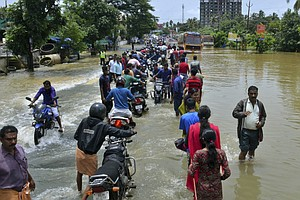 Monsoon Floods Have Killed More Than 320 People In Kerala...