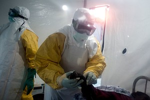 WHO Expects Ebola To Spread In Congo In Areas Too Dangero...