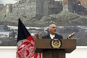 Taliban Answers Afghanistan's Cease-Fire Offer With Ambus...