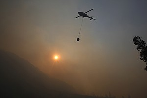 Firefighters Continue Making Headway Against California B...