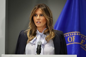 As The President Tweets Attacks, Melania Trump Speaks Out...