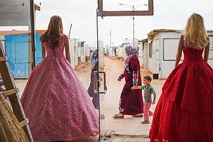 Refugees Say Yes To The Rental Wedding Dress