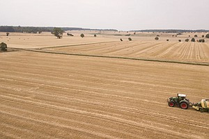 German Farmers Struck By Drought Fear Further Damage From...