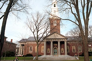 Justice Department Sides Against Harvard In Racial Discri...