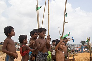 In Bangladeshi Camps, Rohingya Refugees Try To Move Forwa...