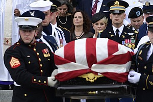 John McCain Honored As A Principled Politician, Beloved Father At Washington ...