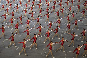 PHOTOS: North Korea Celebrates 70 Years With Military Parade And Mass Games